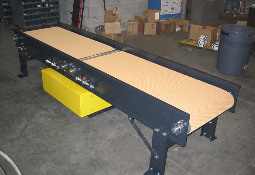 Gapper belt conveyor