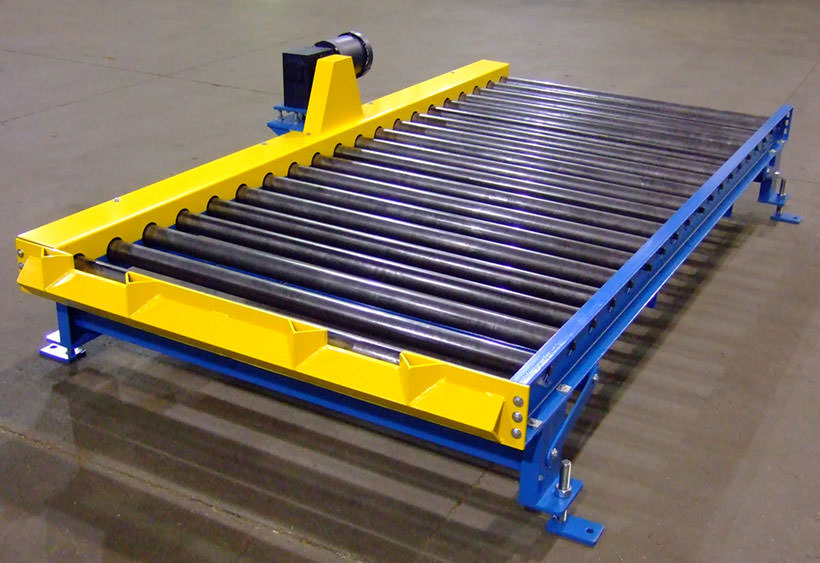 CDLR drive bed with side guides