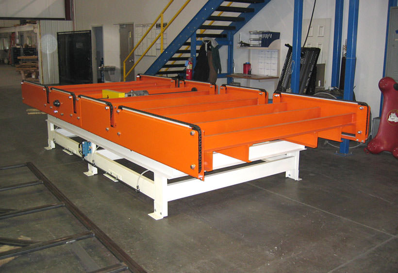Large capacity chain conveyor