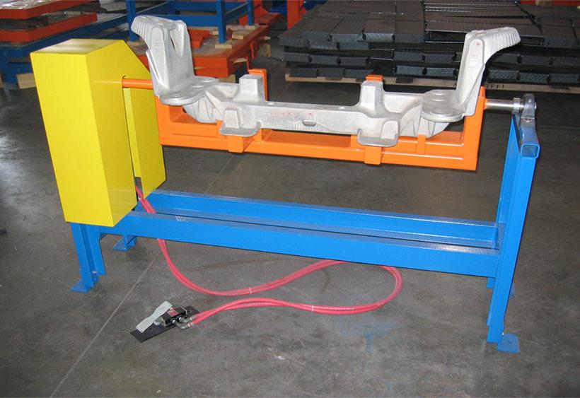 Custom casting rotator