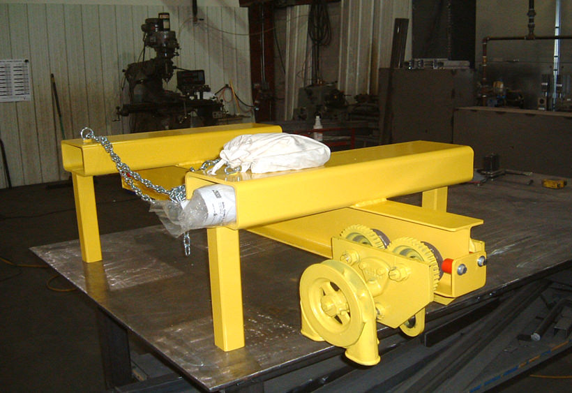 Custom lift truck fork attachment