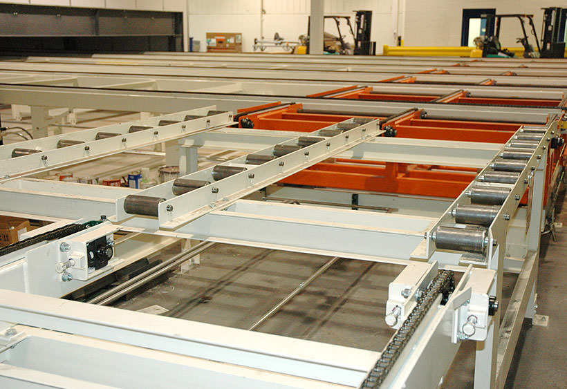 Removable conveyor for access