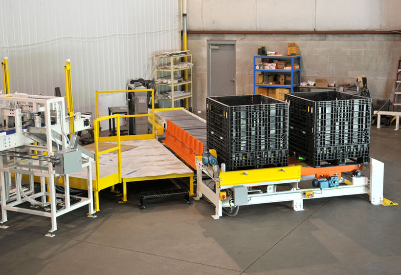 Tote handling and operator platform overview