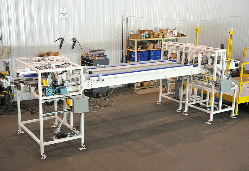 Press load conveyors overview