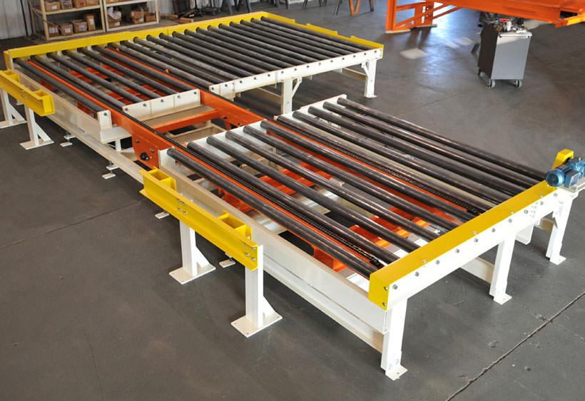 Large rack loading system