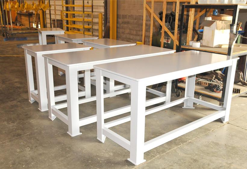 Custom heavy duty machine bench