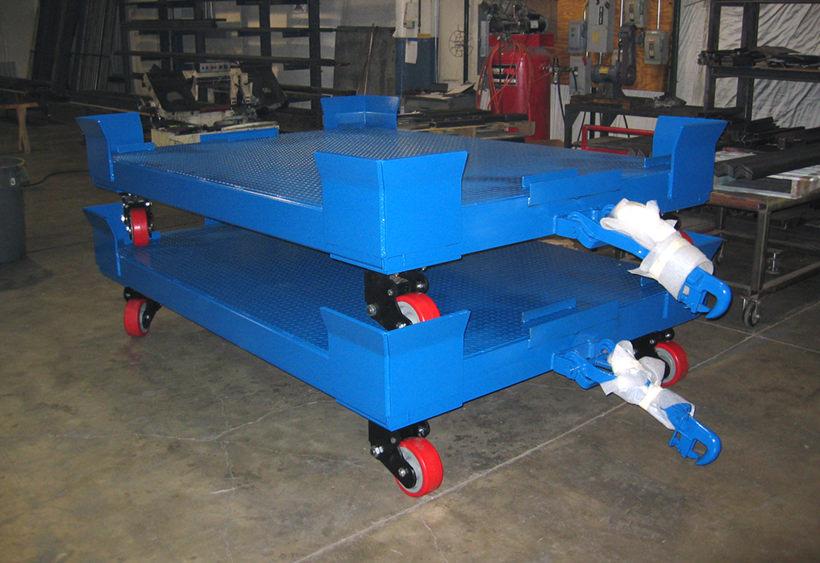High capacity die carts