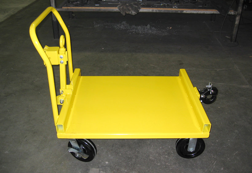 Custom towing carts