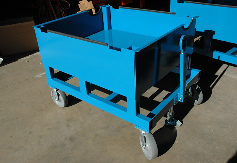 Custom application cart