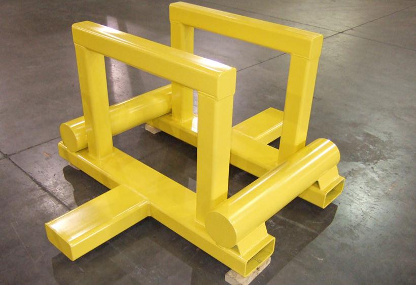 Coil transport rack
