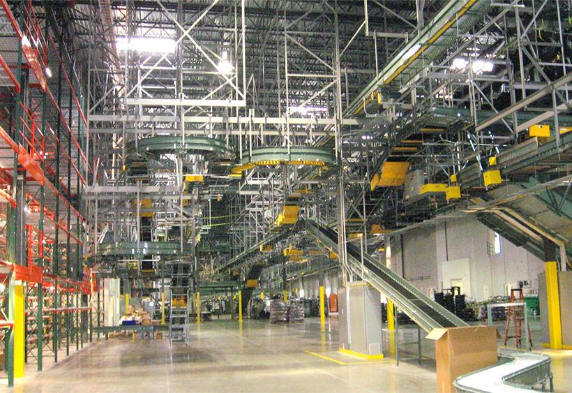 Header steel for conveyor support
